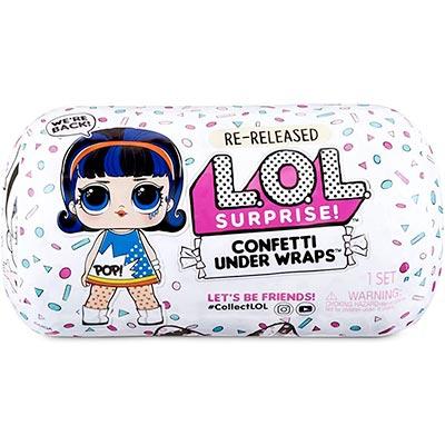 LOL Confetti Under Wraps
