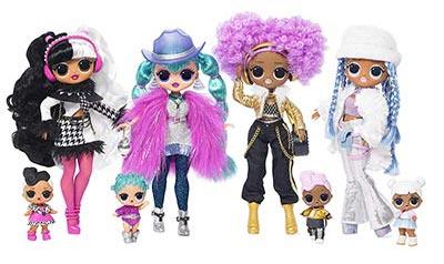 Куклы LOL OMG Winter Disco