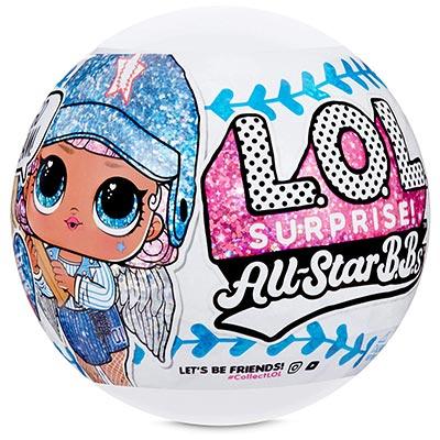 Куклы LOL All Star бейсболистки