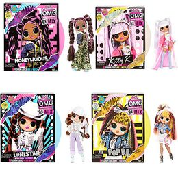 4 Куклы ЛОЛ ОМГ Ремикс