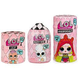 Куклы ЛОЛ 5 серия вторая волна Hairgoals, Fuzzy Pets, Lils