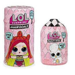 Куклы ЛОЛ Hairgoals и Fuzzy Pets вторая волна