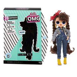 Кукла ЛОЛ ОМГ 2 серия Busy B.B.
