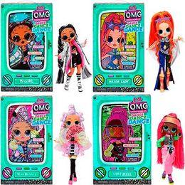 4 Куклы ЛОЛ ОМГ Дэнс