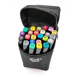 Набор фломастеров для скетчинга 24 цвета