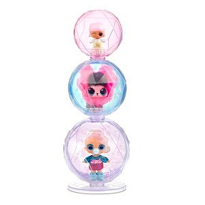 LOL Winter Disco Glitter Globe, Fluffy Pets, Lils