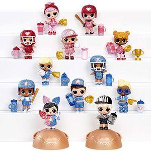 Кукла ЛОЛ Бейсболистка Lucky Stars