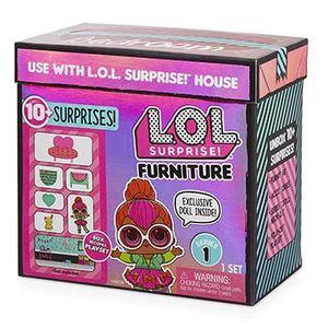 ЛОЛ Мебель с куклой Neon LOL Furniture