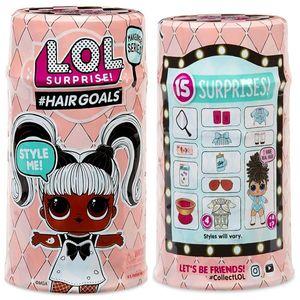 Куклы ЛОЛ с волосами 5 серия 3 шт