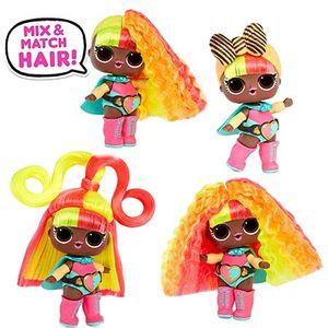 Кукла LOL Hairvibes со сменными прическами