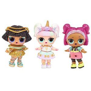 Куклы ЛОЛ блестящие