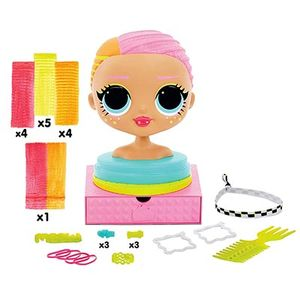 Голова куклы ЛОЛ для создания причесок