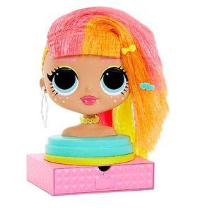 Голова куклы ЛОЛ ОМГ для создания причесок