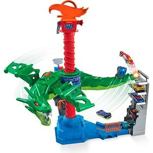 Hot Wheels Трек Воздушная Атака Дракона-робота