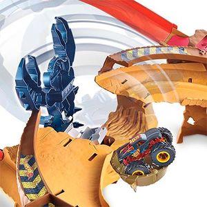 Hot Wheels Трек Монстр-трак Гонка со Скорпионом