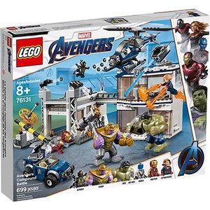 LEGO Marvel Битва На Базе Мстителей 76131